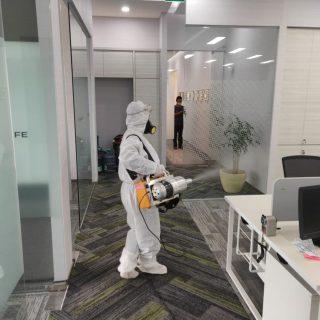 disinfeksi komersial kantor