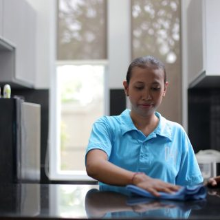 general cleaning, maid service, regular sevice