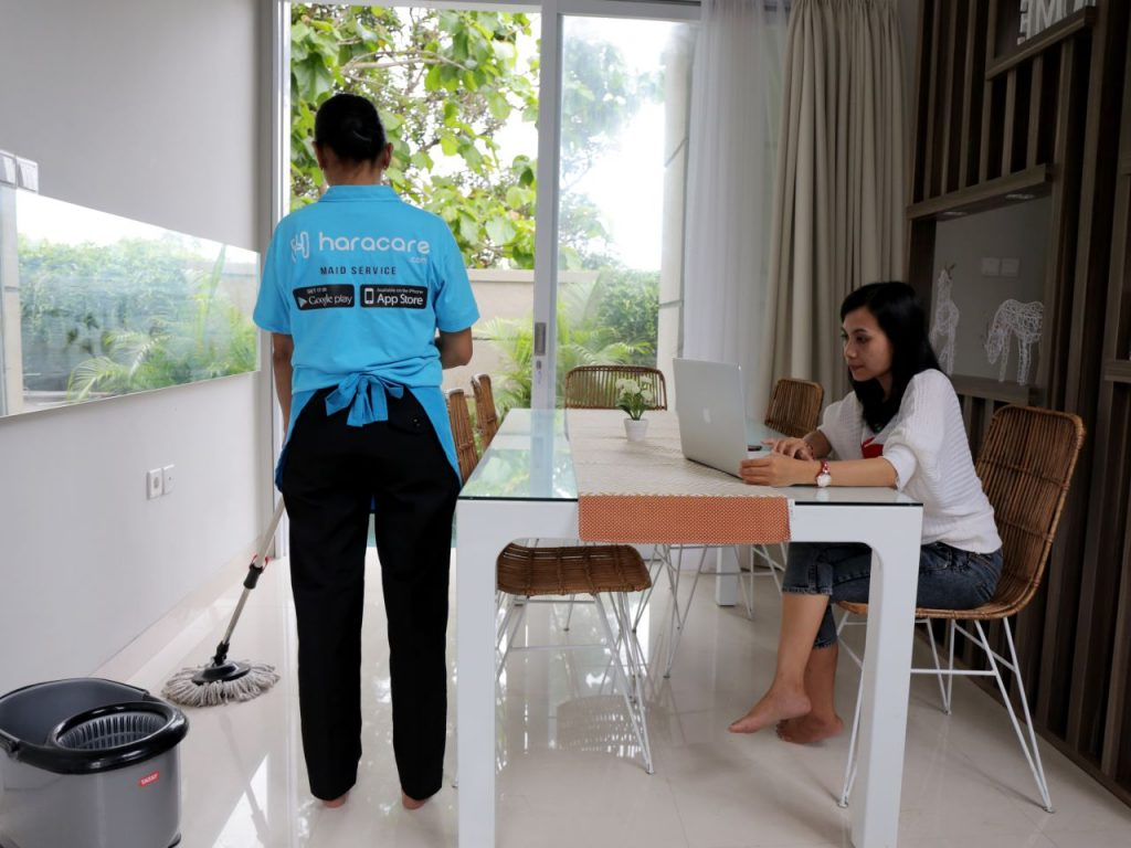 general cleaning, jasa maid service