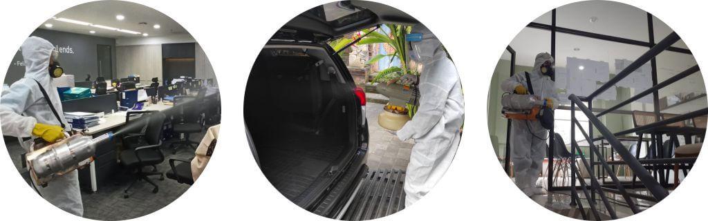 jasa semprot disinfektan Samarinda, Batam, Palembang, Pekanbaru, Pontianak