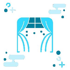 Curtain Cleaning, sanitasi vacuum